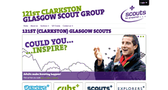 Preview of 121glasgowscouts.org.uk